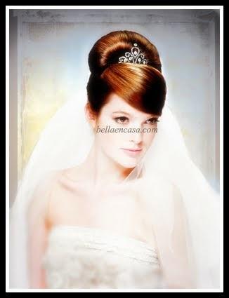 Peinados de novia altos paso a paso