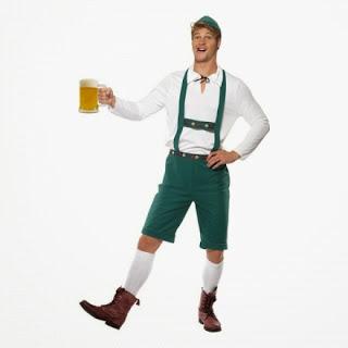 Oktoberfest utklädnad