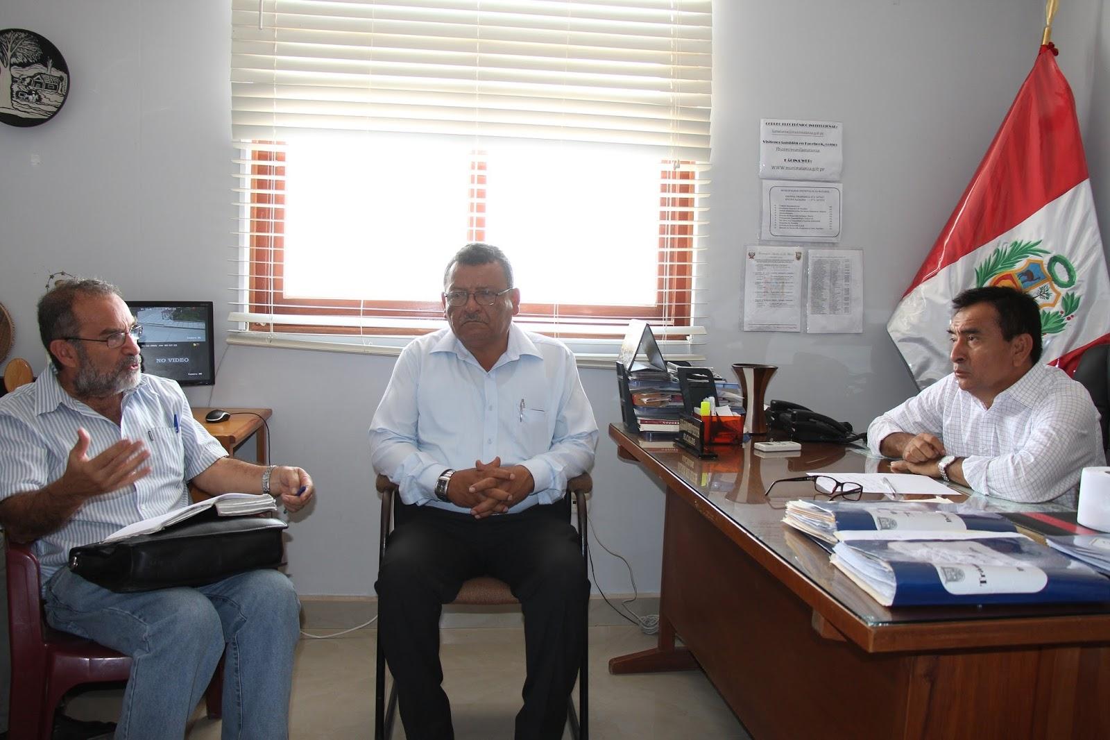 Ministerio de salud visita la oficina de sala situacional for Municipalidad la matanza