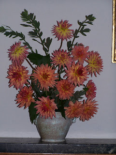 Orange cactus bouquet