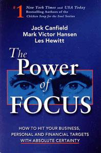 Portada original de El poder de mantenerse enfocado, de Jack Canfield, Mark Victor Hansen y Les Hewitt