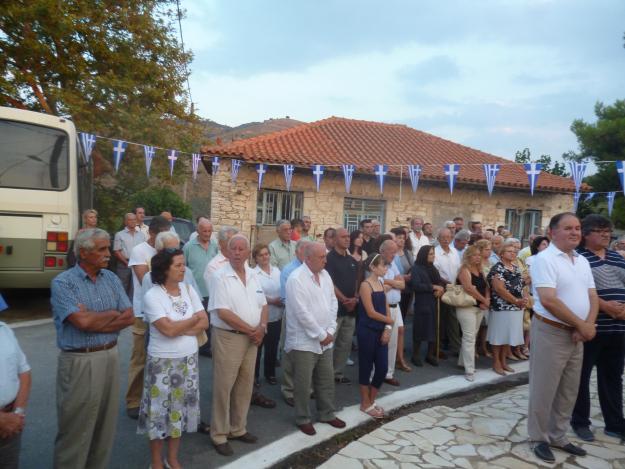 Αποδόθηκε τιμή στον πεσόντα για την Κύπρο από το Κρυονέρι Τριφυλίας