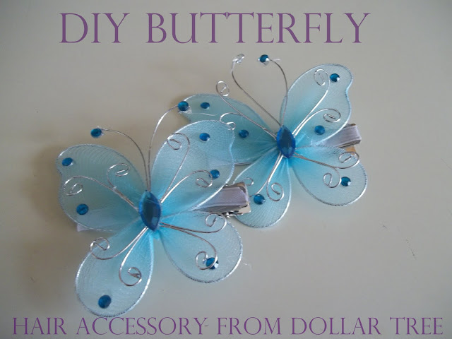Ahhh Mom Make Your Own Butterfly Hair Clip