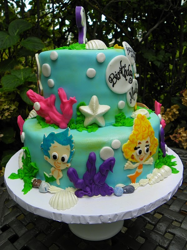 pictures of bubble guppies cakes