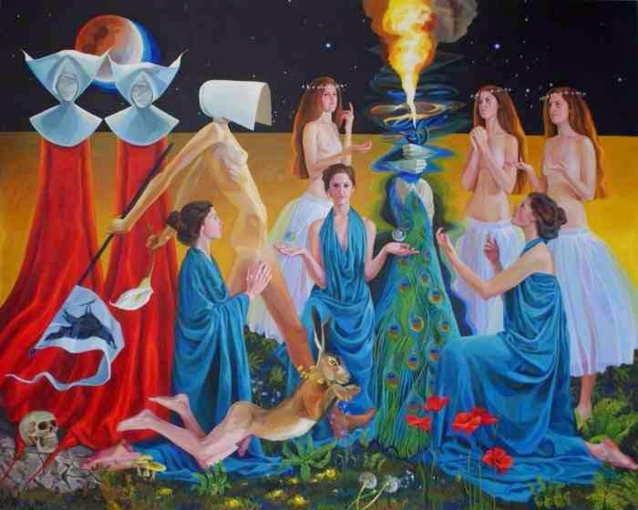 Современная британская художница. Caroline Elkington