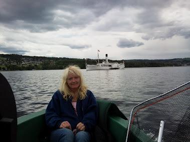 Første fisketur på Mjøsa 20.06 2012