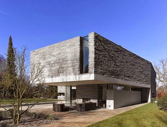 Fachadas de Piedra Fachadas de casas modernas en piedra