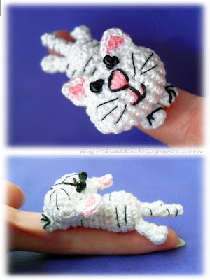 котенок амигуруми