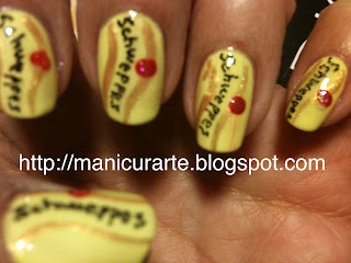 Schweppes nails
