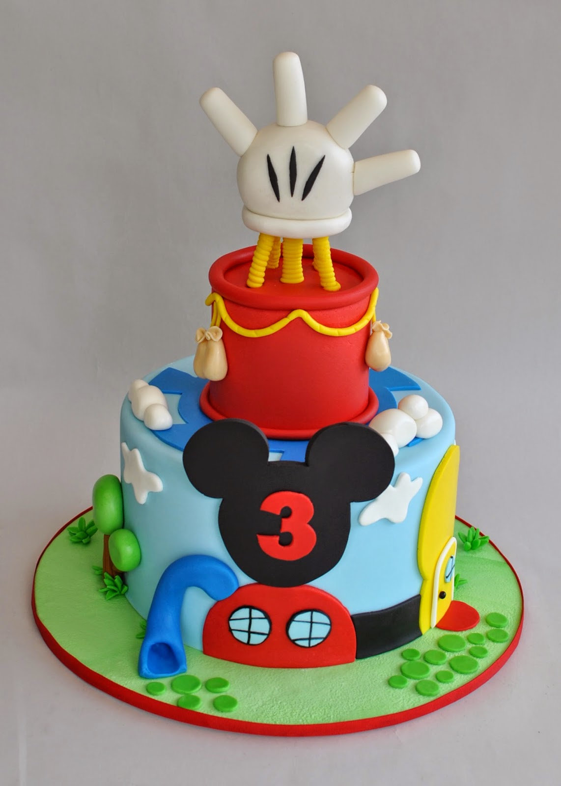 Mickey Mouse Cake Birmingham