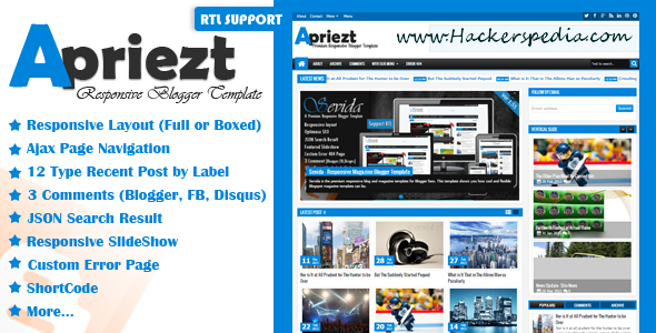 apriezt blogger template