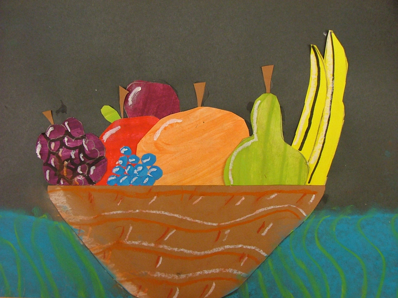 Fruit Basket Art And Craft : Art with mrs seitz fruit still life collage