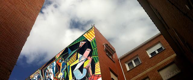 Medianera de Picasso, 2015 Abbé Nozal