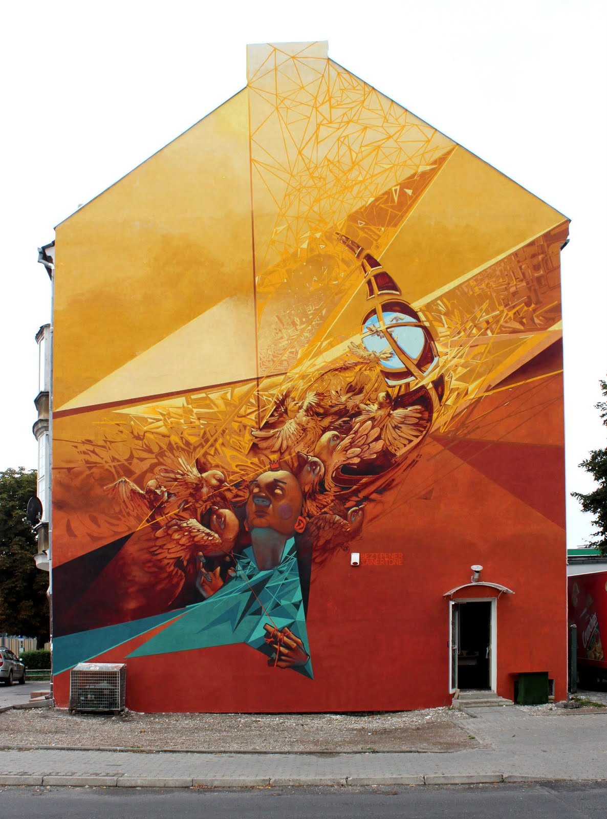 Amazing graffiti by Przemek Blejzyk
