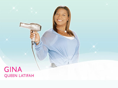 American Rapper Queen Latifah Wallpaper
