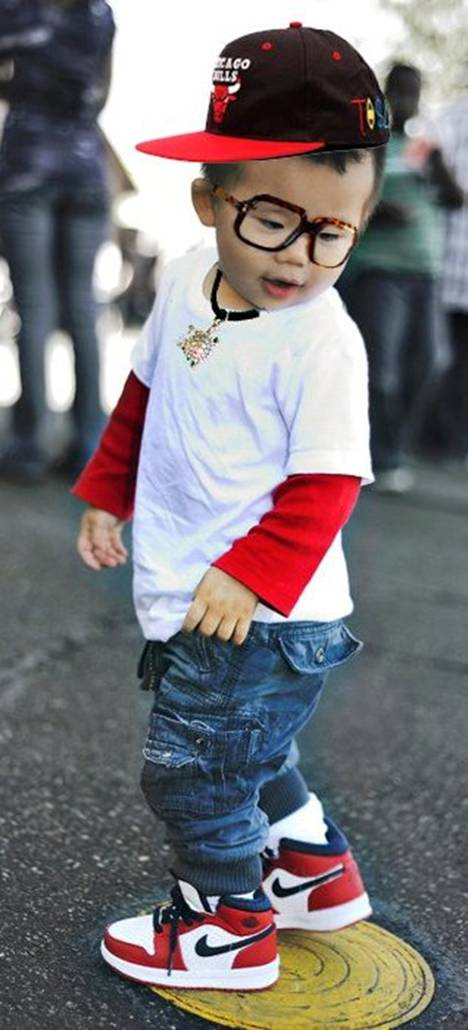 Adorable Alert   Baby s Got Swag Little White Kids With Swag