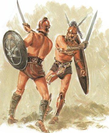 Где в древнем риме проходили гладиаторские бои