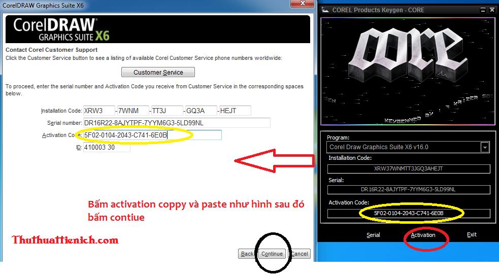 serial corel draw x4 e codigo de ativação