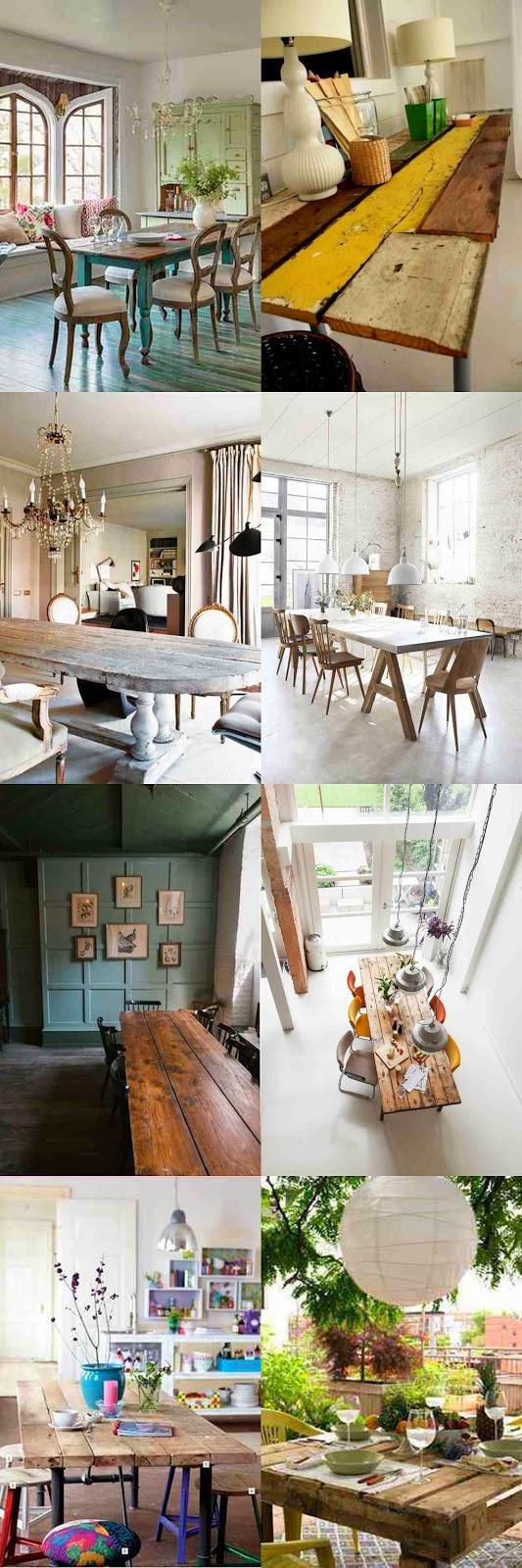 Stoły drewniane, z drewnianych desek, stoły vintage, stoły rustyklane