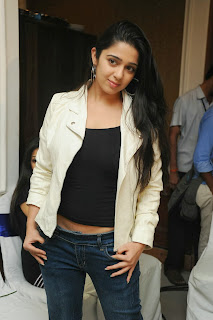 Actress Charmi Kaur Pictures in Jeans at One by Two Movie Celetes 20 Years Event  0079