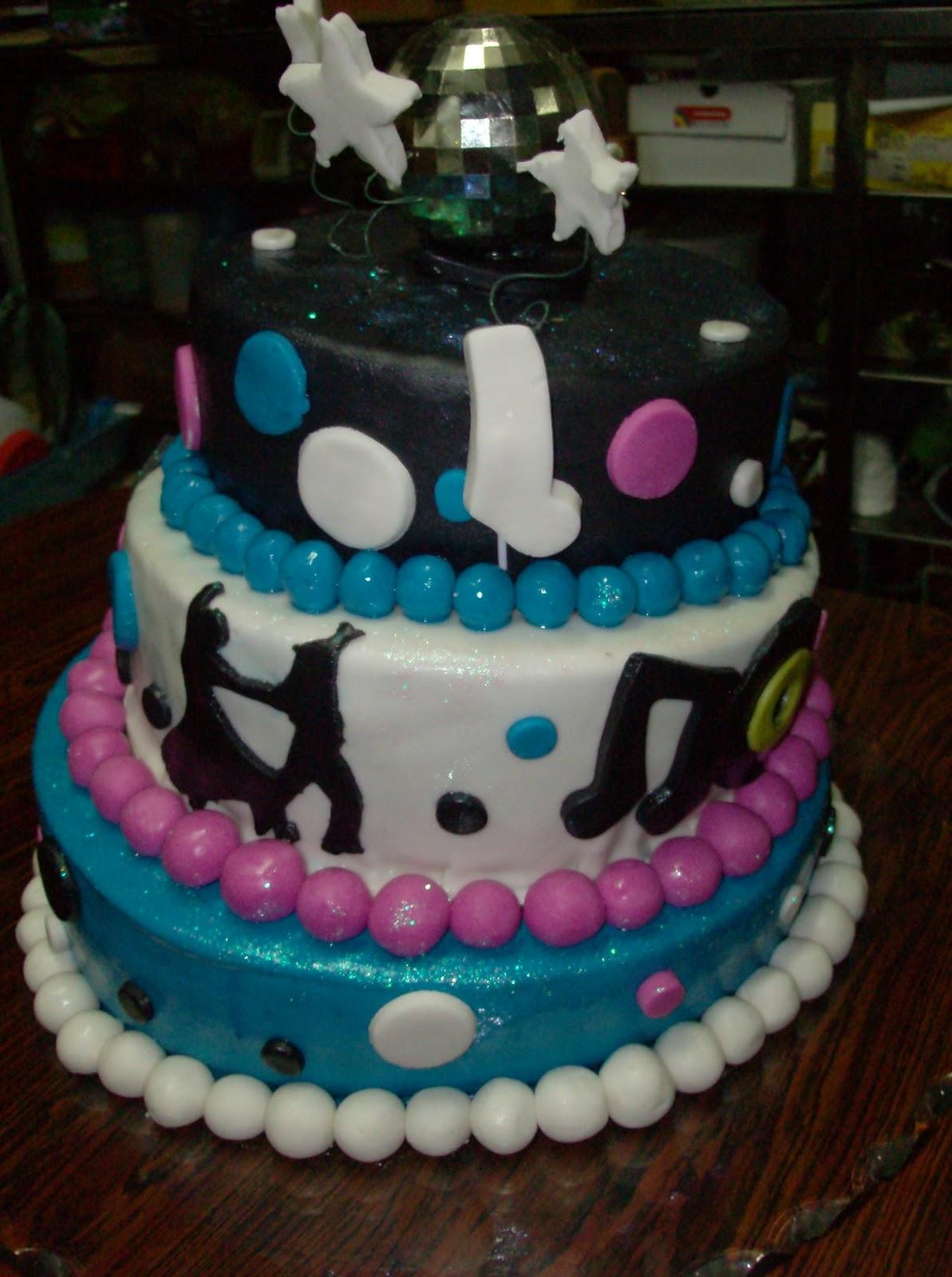 Torta De 15 A  Os Retro