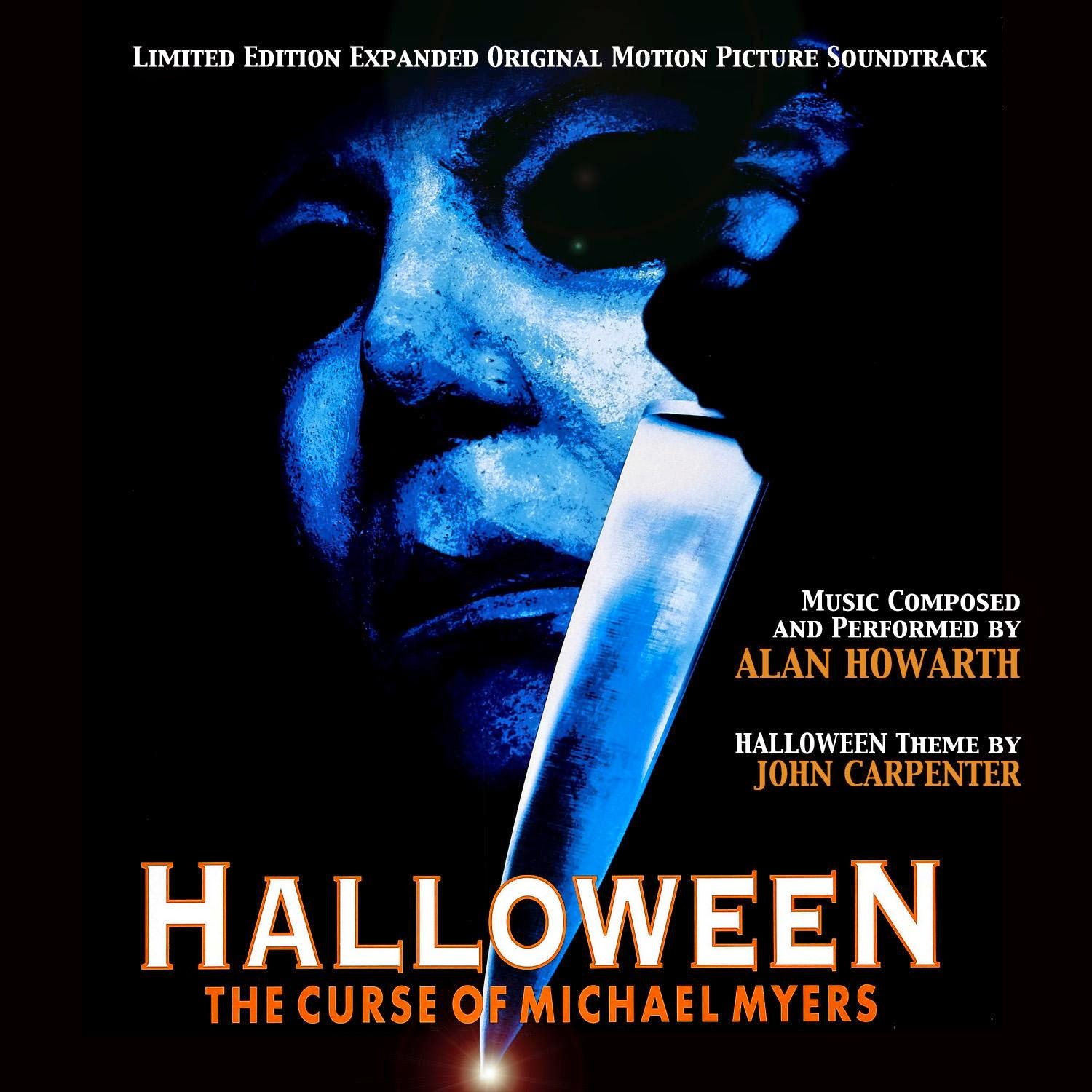 Halloween 6\u0027 Double CD Expanded Soundtrack Cover Art