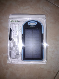 1 Package Solar Powerbank