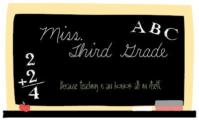 Miss. Third Grade