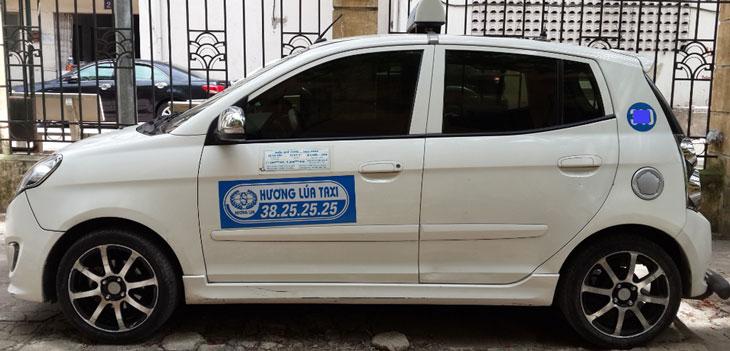 Kết quả hình ảnh cho taxi hương lúa hà nội