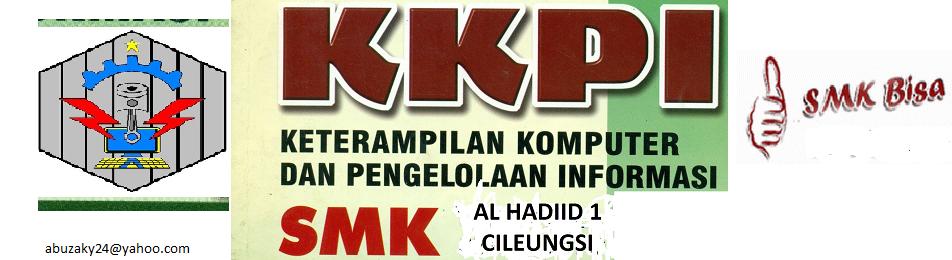 Media Belajar KKPI  SMK Al Hadiid 1 Cileungsi