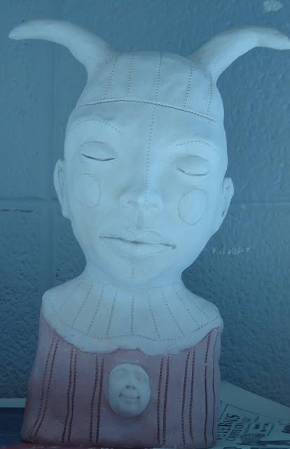 Harlequin with round cheeks