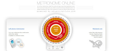 Metrónomo gratis on-line