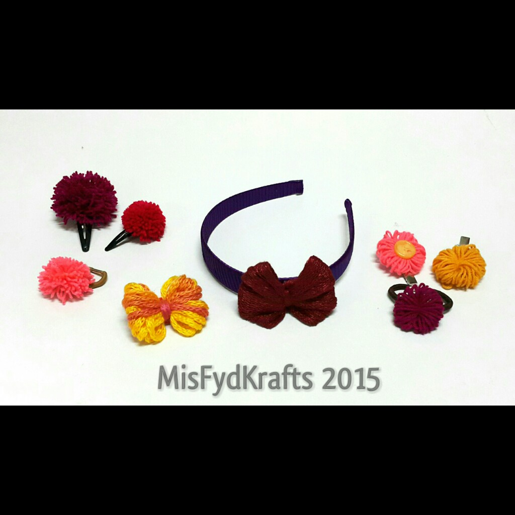 Misfydkrafts acg craft for charity making pompom for Crafts to donate to charity