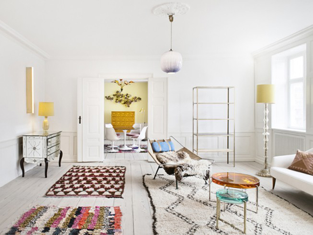 Deco maison tapis marocain