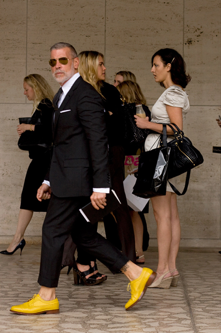 Nick Wooster Cool Chic Style To Dress Italian