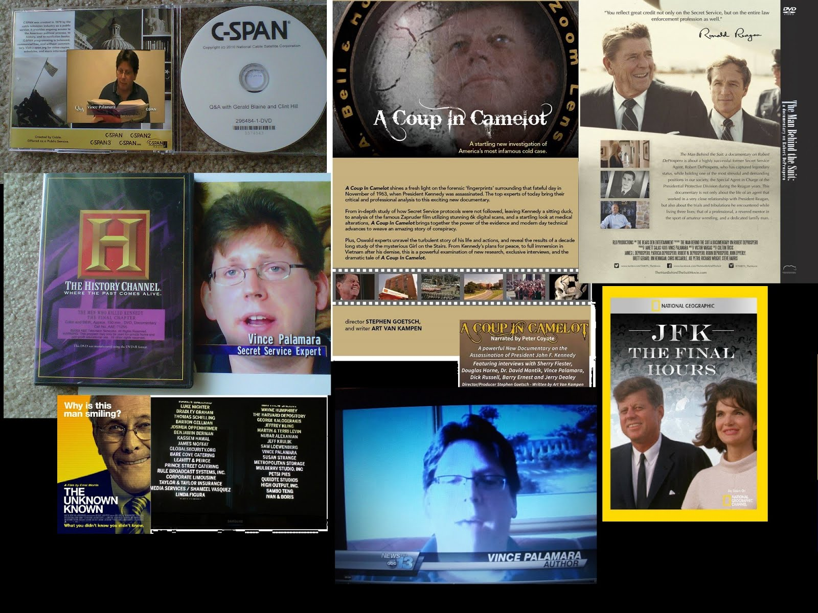 Just some of my television and DVD credits