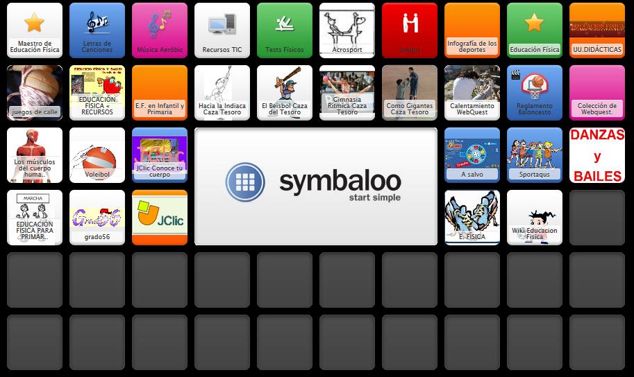 Symbaloo EF