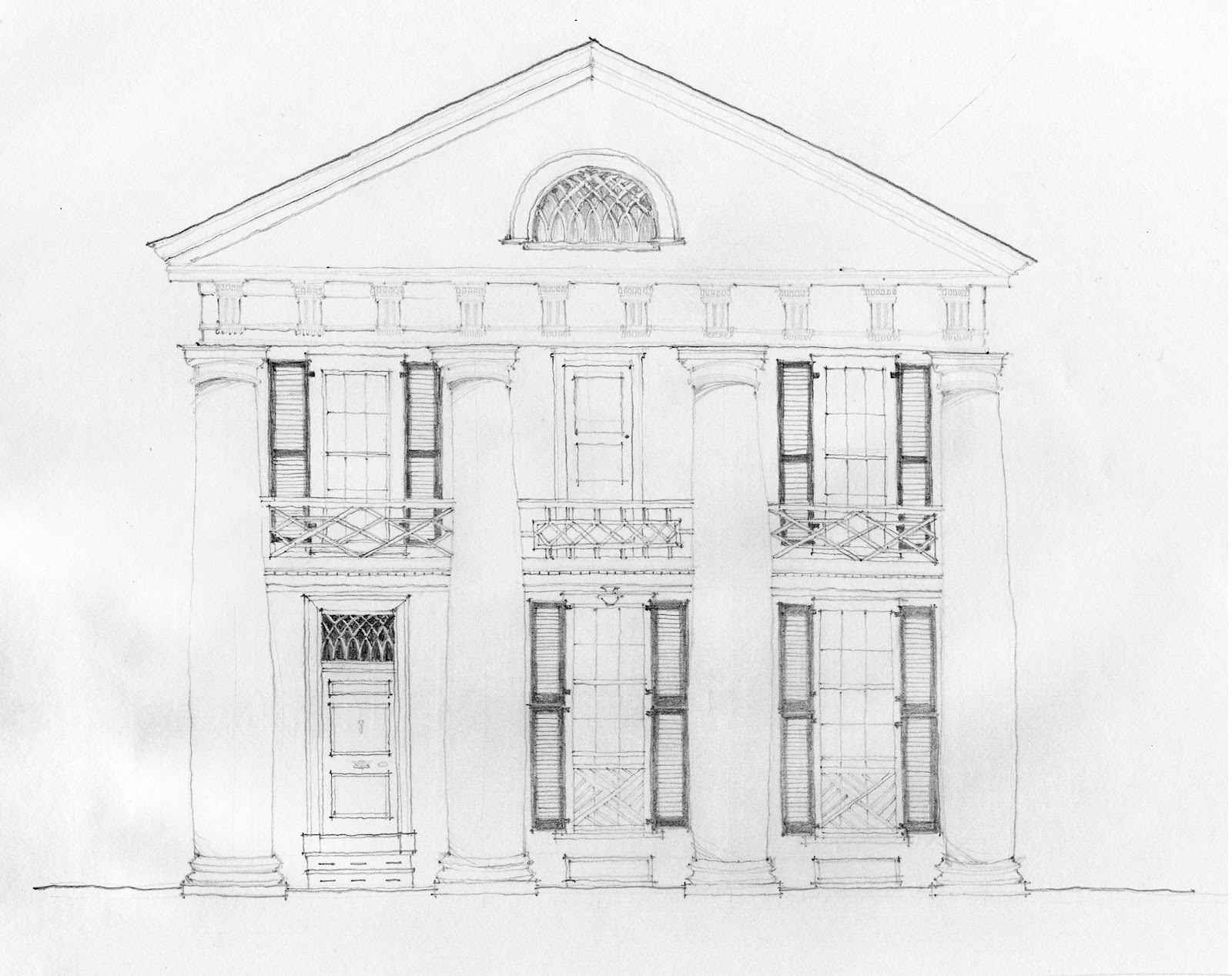 Turn-of-the-Centuries: On-Site Sketching: The University: Pavilion ...
