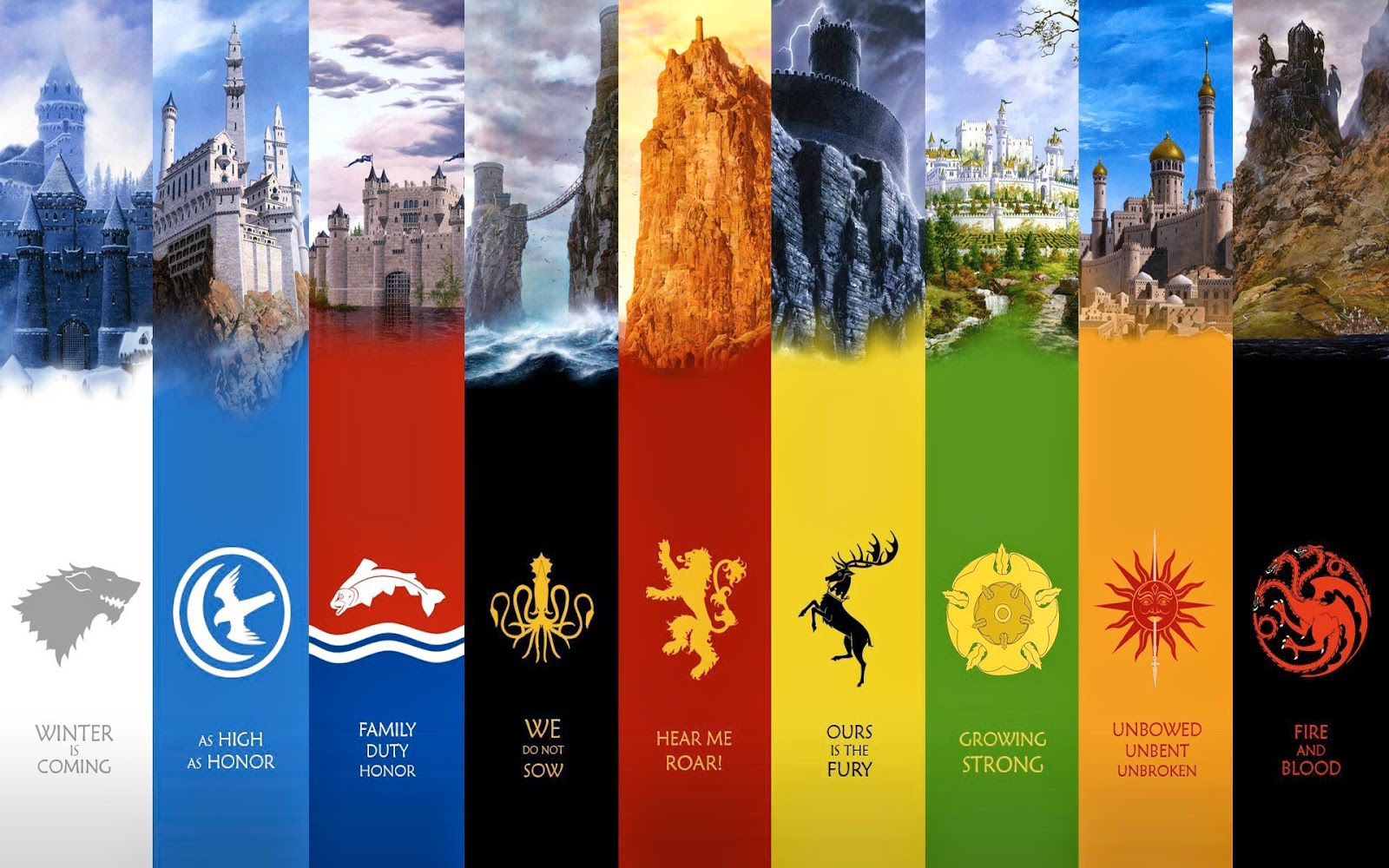 Papel de ParedeSeriado HBO Game of Thrones