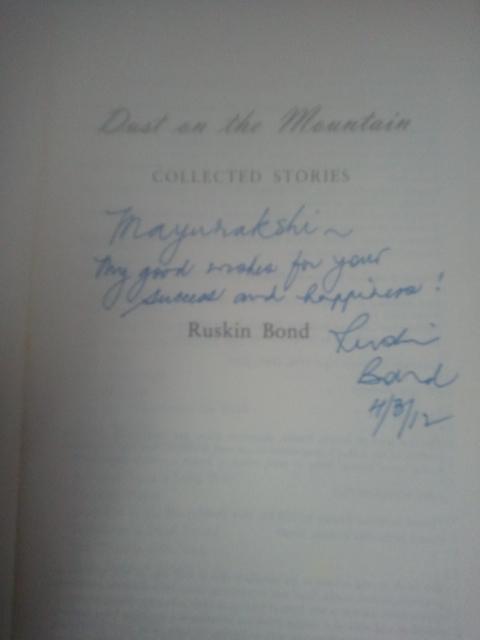 essay on my favourite author ruskin bond