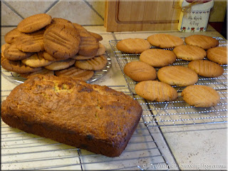 healthier peanut butter cookies and banana bread
