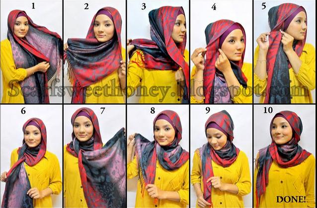 comment faire le foulard