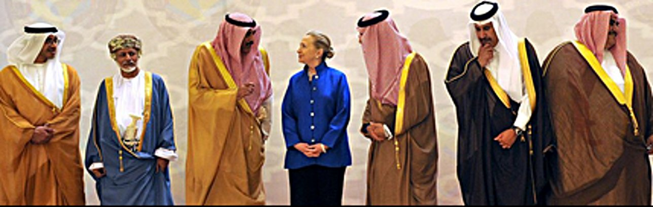 Hillary supports sharia for women, war with Russia and aid to Sunni islamofascists