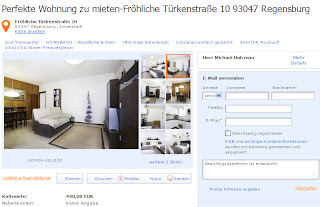 5 dezember 2012 for Regensburg wohnung mieten