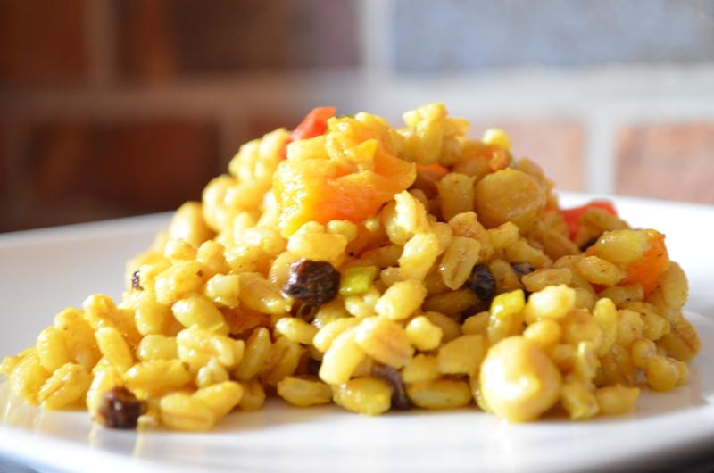 The Inventive Vegetarian: Curried Barley Salad