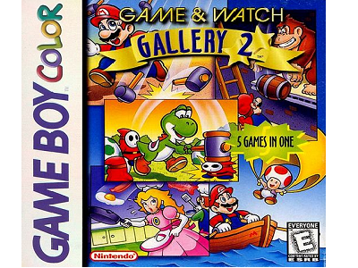 Review Game Amp Watch Gallery 2 3DS Virtual Console