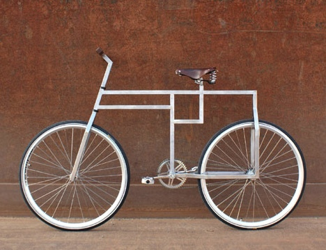 design love: bauhausian bicycle