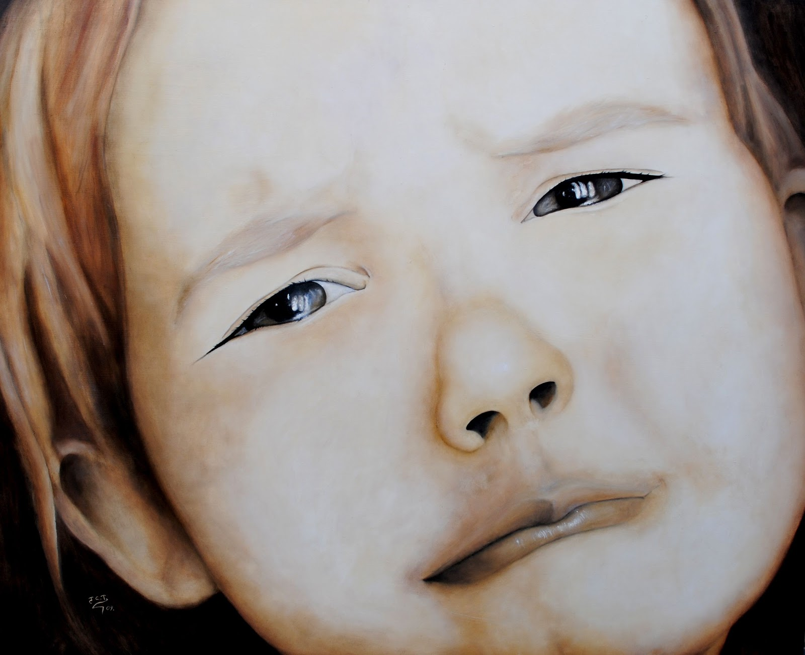 Adorables caritas de niños. - Página 2 NI+%C3%A6A+TRISTE+-+125x100cm+-+400%C3%94%C3%A9%C2%BC