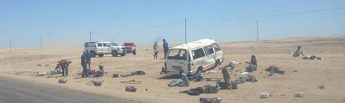 Road accident Namibia