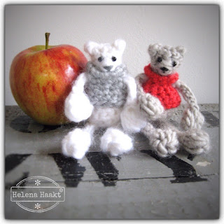 Crochet winter bears Helena Haakt